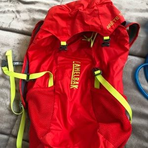 Camelbak hike pack with water inserts